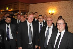 Sir David Hugh Wootton visits Northumberland Masters Lodge