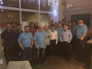 Northumberland Light Blues Club Christmas 2017